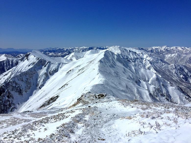 谷川岳 主稜線