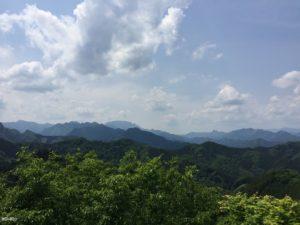 天文台から両神山と二子山