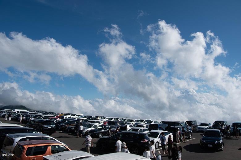 刈田岳頂上駐車場