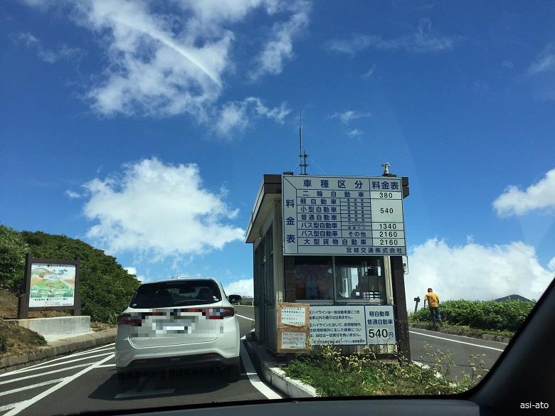 蔵王ハイライン料金所